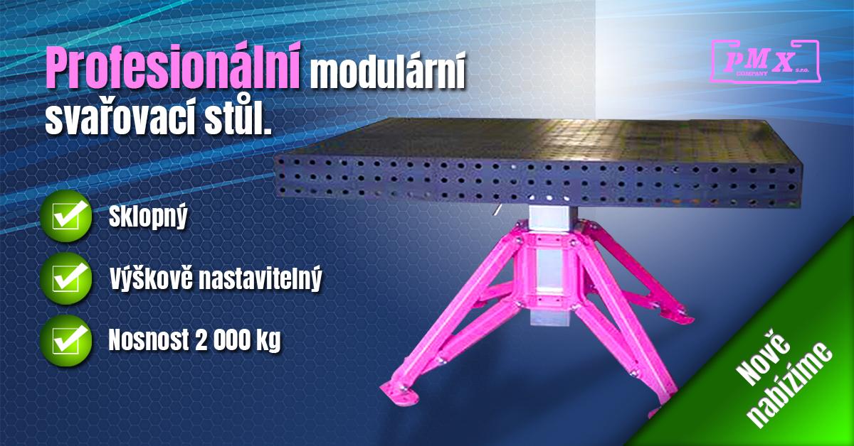 Profesionální modulární svařovací stůl